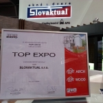 TOP EXPO award from FOR ARCH Fair