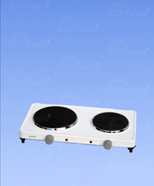 6041 - electric cooker, two hotplates